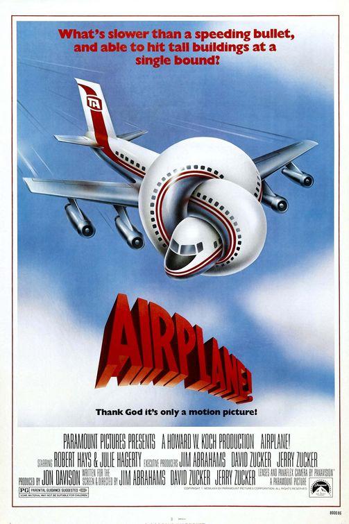 Hoy hace 30 años una obra maestra Airplane